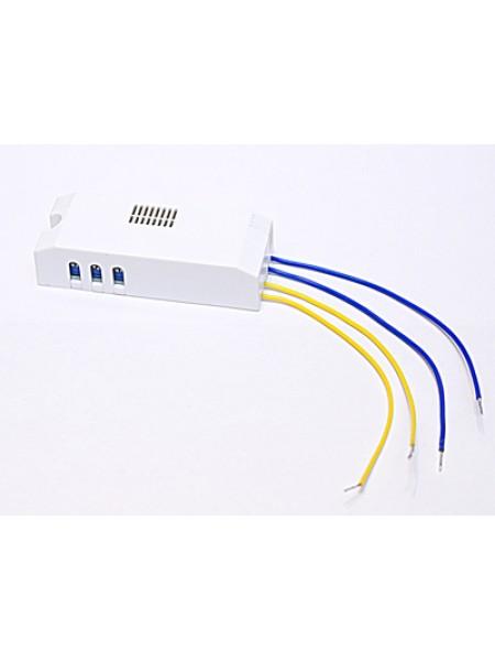 Выключатель оптико-акустический СЗВО-4.К для ламп накаливания, светодиодных, люминесцентных, 1-150W ручная настройка IP20