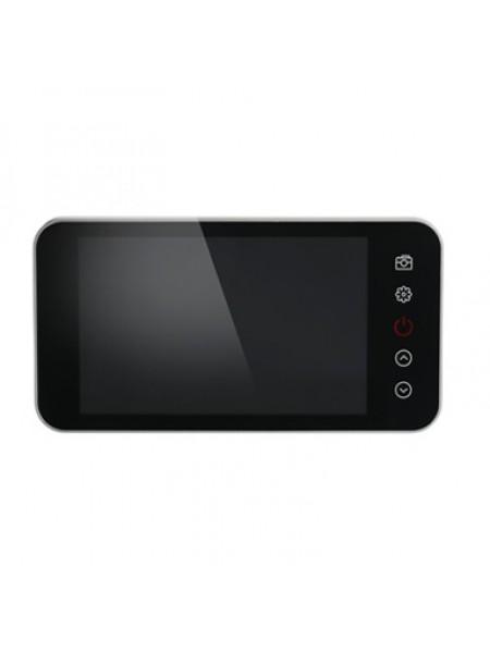 Видеоглазок для входной двери с монитором и записью PST-4.0М